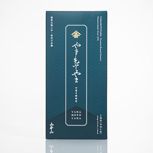 山本山:やまもとやま焼海苔 3袋詰(半切5枚)